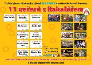 11 večerů s Bakalářem