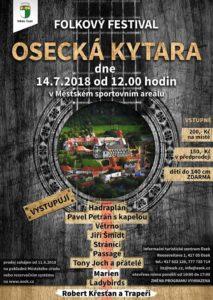 V sobotu 14.7 od 12:50 hrajeme v Oseku.